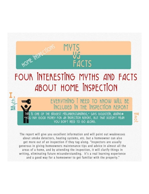 Myths and facts about home inspections - The Lindsay Group