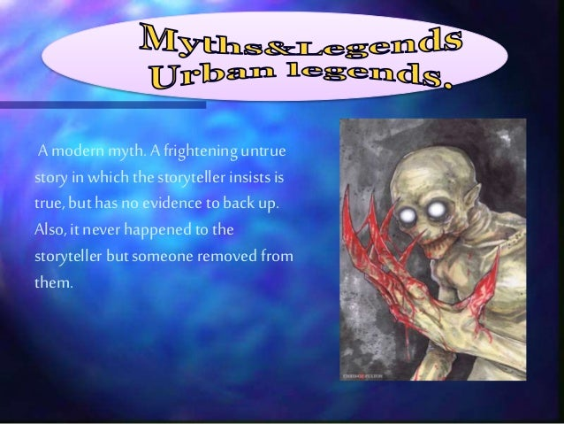 Myths and legends activity