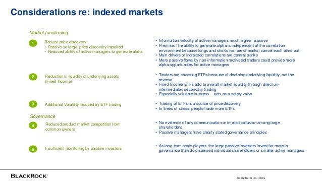 ETFs: Benefits Of Exchange Listing
