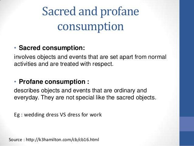 Are you the sacred or the profane? A summary of durkheim's sacred.