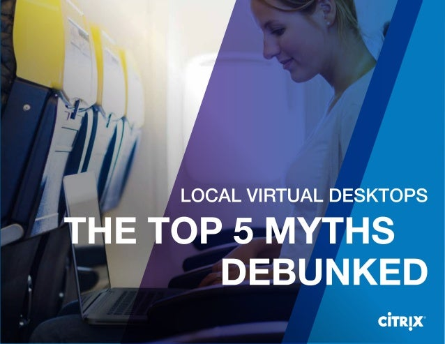 Desktop virtualization is always hosted in a datacenter or in the cloud with nothing running locally. I don't need a local...