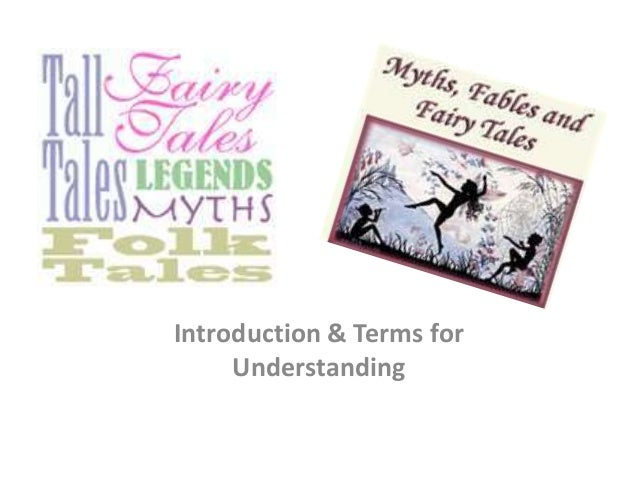 Introduction & Terms for     Understanding