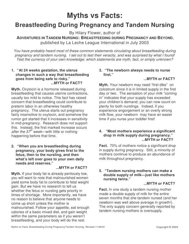 f87b3cc335903 Myths Vs Facts Breastfeeding During Pregnancy And Tandem Nursing
