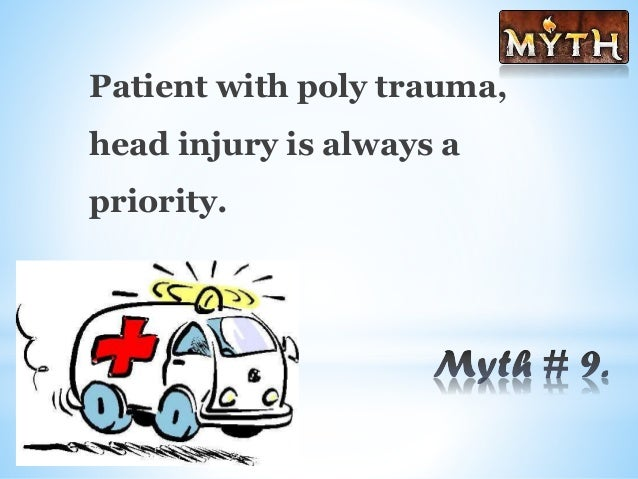 traumatic brain injury myths and misconceptions Traumatic brain injury: myths, misconceptions and the need for lifelong healthcare i don't have a droopy face, a steel plate in my head, nor am i paralyzed in any.