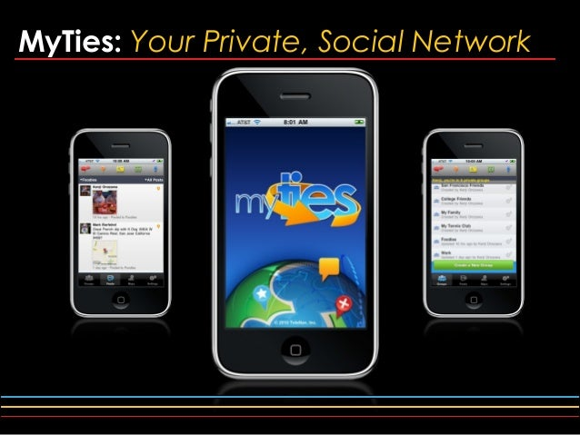MyTies: Your Private, Social Network