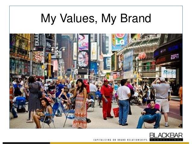My Values, My Brand