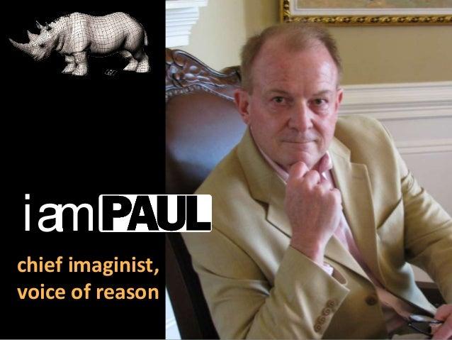 iam chief imaginist, voice of reason