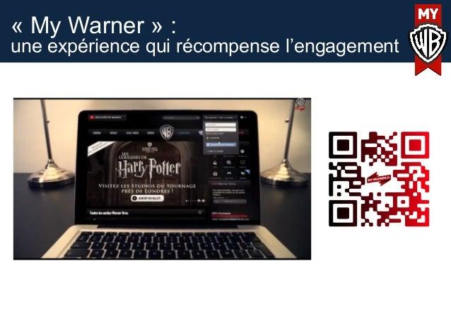 « My Warner » :une expérience qui récompense l'engagement