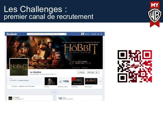 Les Challenges :premier canal de recrutement