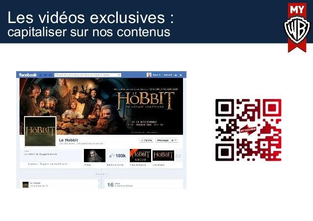 Les vidéos exclusives :capitaliser sur nos contenus