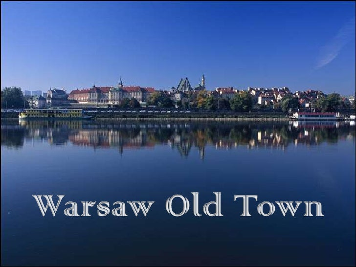 Warsaw Old Town<br />