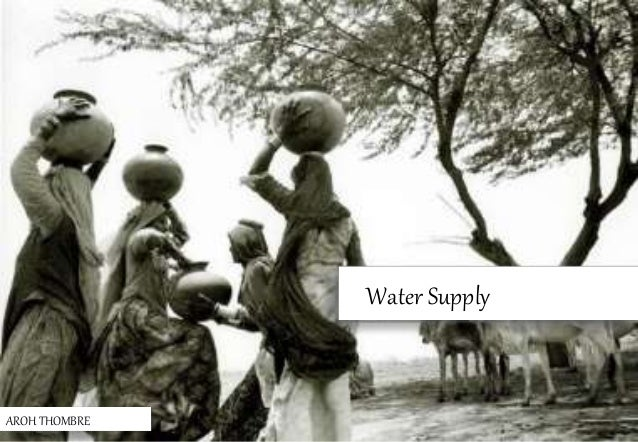 Water Supply AROH THOMBRE