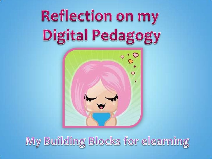 I have provided an overview of how I structure my Digital Pedagogy. I have summarised my practice rather than include ever...