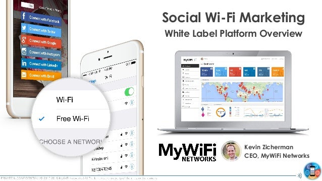 MyWiFi Networks: Social Wi-Fi Marketing White Label Platform Overview