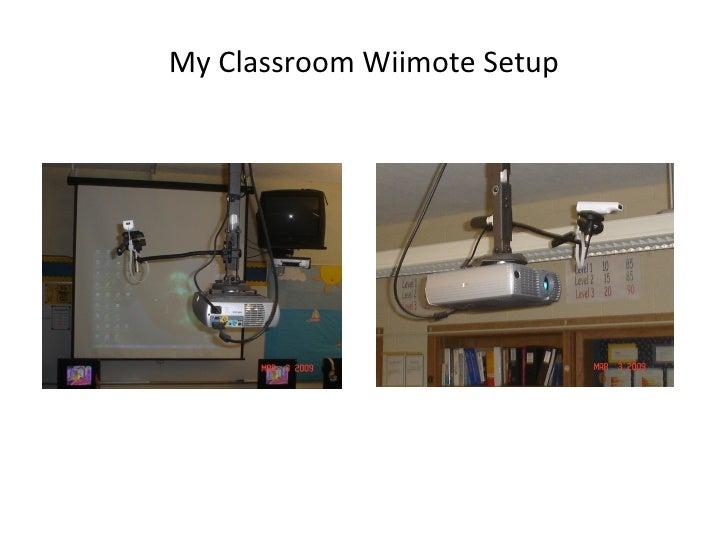 My Classroom Wiimote Setup