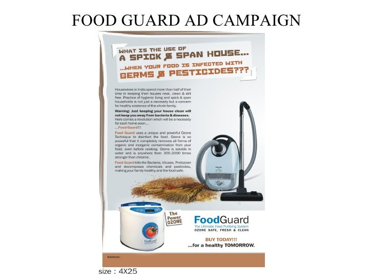 FOOD GUARD AD CAMPAIGN