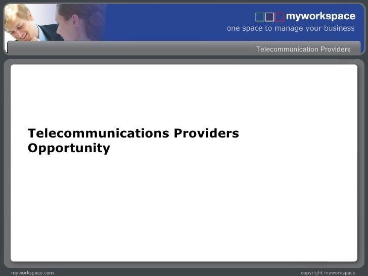 Telecommunications Providers Opportunity