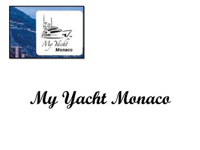 My Yacht Monaco