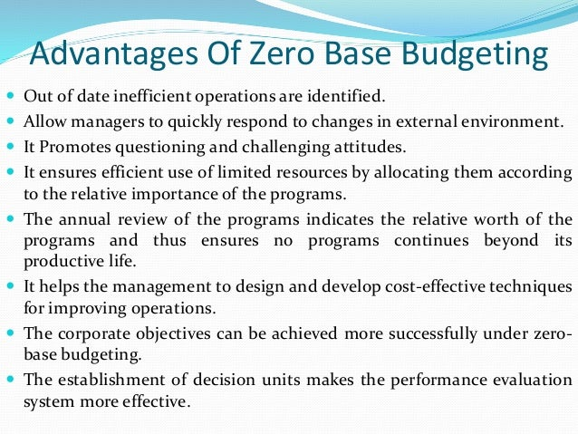 incremental budgeting essay Get custom essay sample written according to your requirements  traditional or  incremental budgeting is the most common type of budgeting used today,.