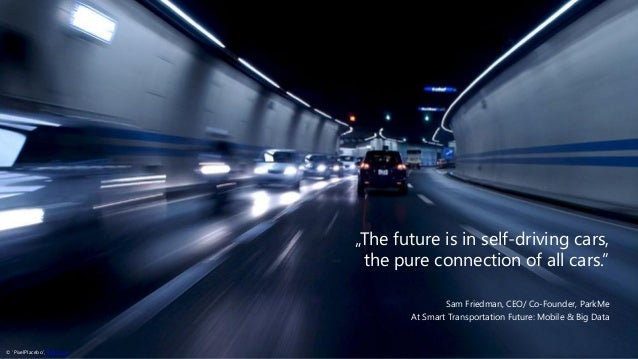 U201eThe Future Is In Self Driving