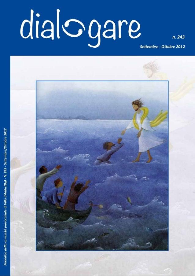 Periodico della comunità parrocchiale di Villa d'Adda (Bg) - N. 243 - Settembre/Ottobre 2012                              ...