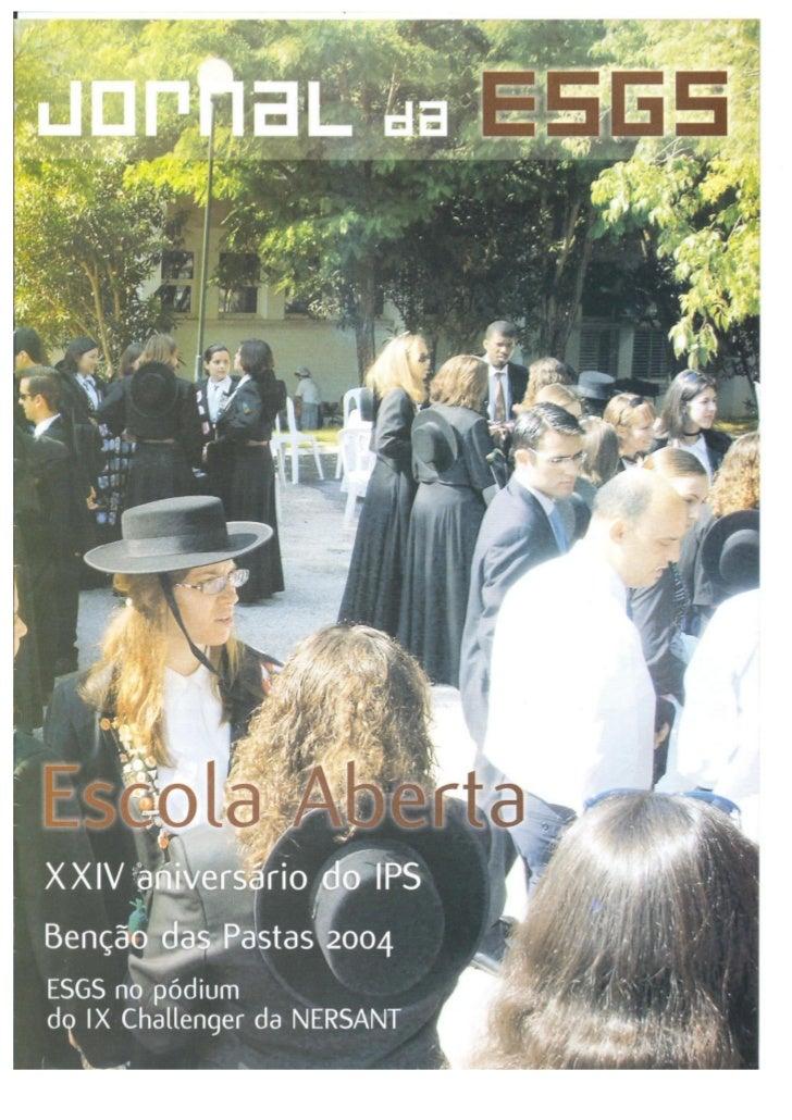 N.º 32 jornal da e.s.g.s   julho de 2004 ano vii