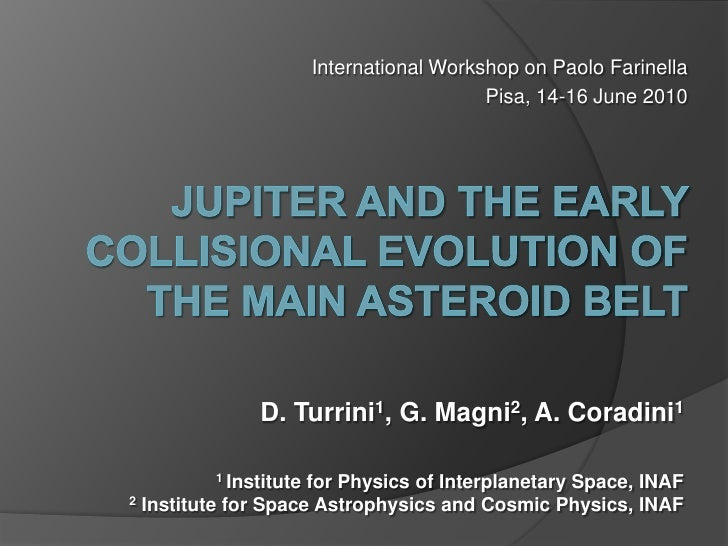 N.36 turrini jupiter-and-the-early-collisional-evolution-of