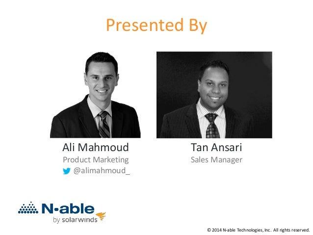 Inside Sales Strategies for MSPs Slide 2