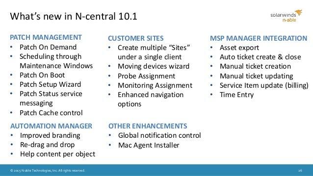 N central 10 1 launch webinar