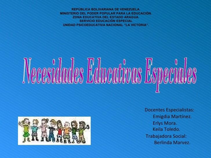 REPÚBLICA BOLIVARIANA DE VENEZUELA. MINISTERIO DEL PODER POPULAR PARA LA EDUCACIÓN. ZONA EDUCATIVA DEL ESTADO ARAGUA. SERV...