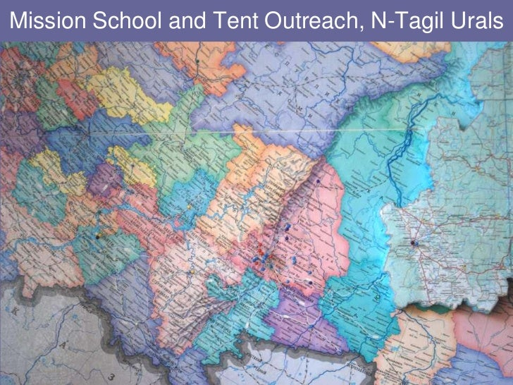 Mission School and Tent Outreach, N-Tagil Urals