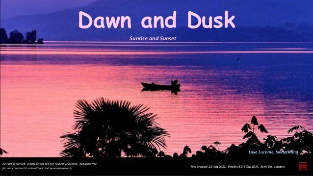 Image result for dawn and dusk