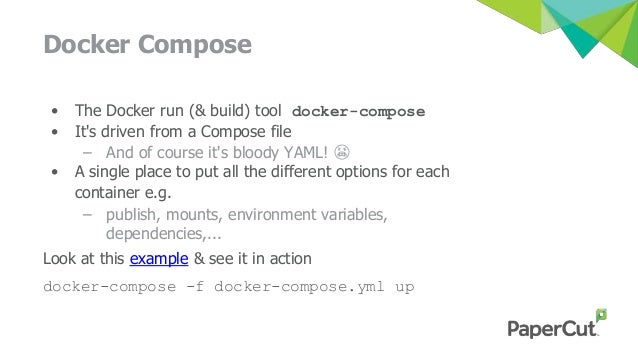 docker run environment variables example