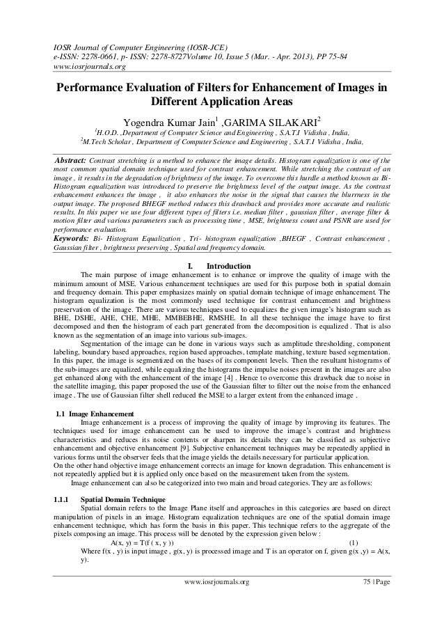 IOSR Journal of Computer Engineering (IOSR-JCE) e-ISSN: 2278-0661, p- ISSN: 2278-8727Volume 10, Issue 5 (Mar. - Apr. 2013)...