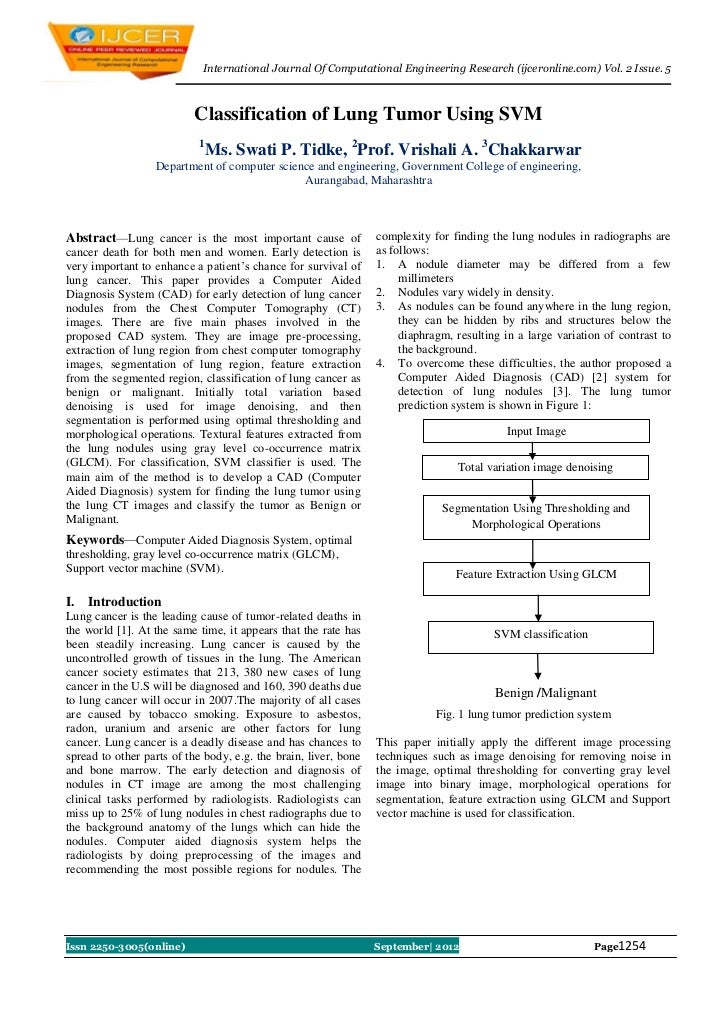 International Journal Of Computational Engineering Research (ijceronline.com) Vol. 2 Issue. 5                          Cla...