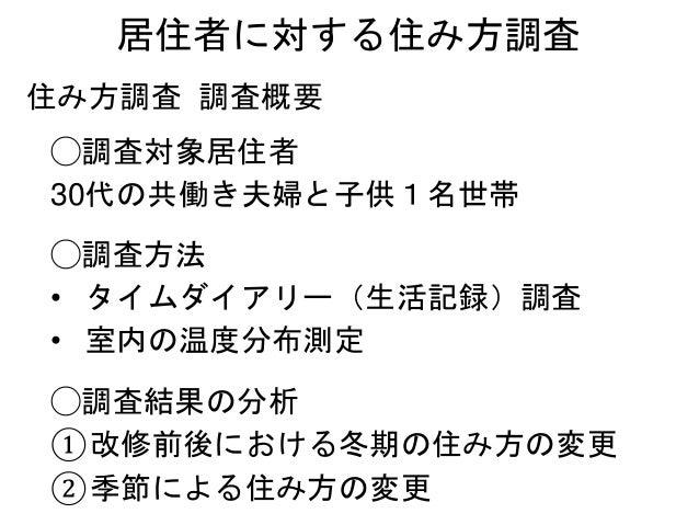 ②季節による住み方の変更 (建具替えと建具の開閉) 夏期 冬期