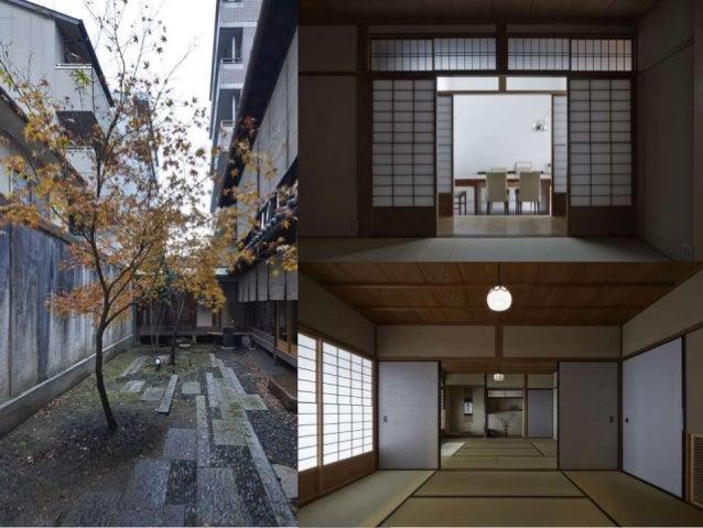 対象京町家平面図
