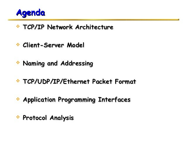 introduction to tcp ip pdf