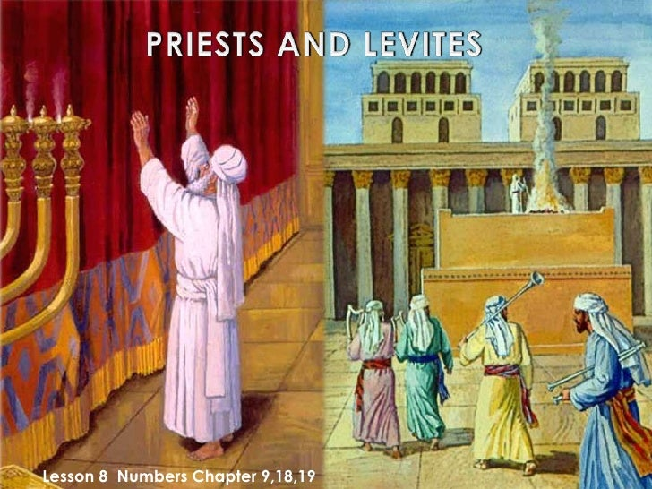 Bilderesultat for levites and priests
