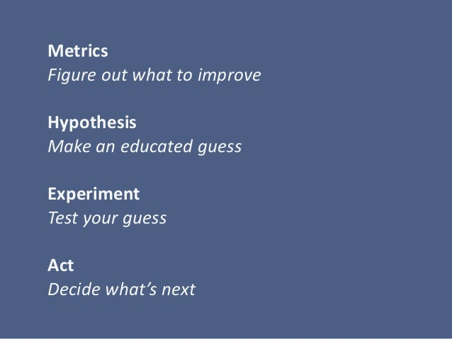 Lean Analytics Cycle