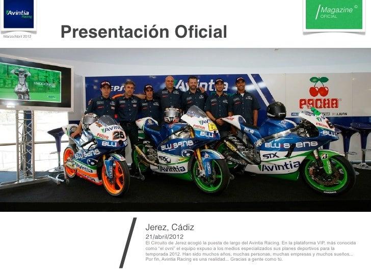 Nº0 magazine avintia racing Slide 3