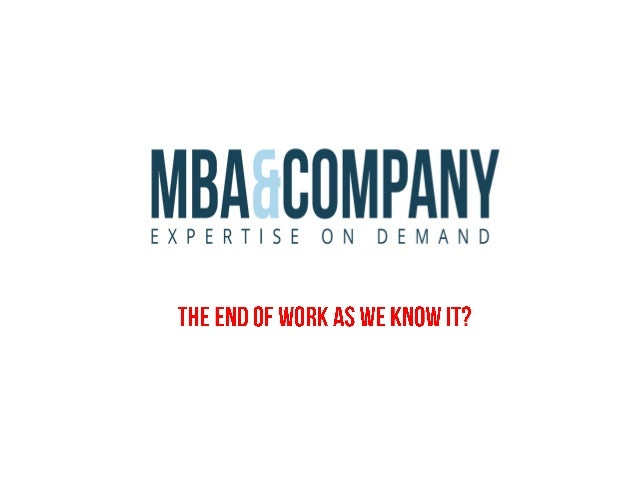 An Introduction to MBA & Company