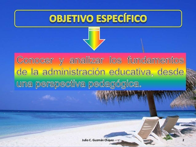 N° 2 fundamentos administración educativa Slide 2