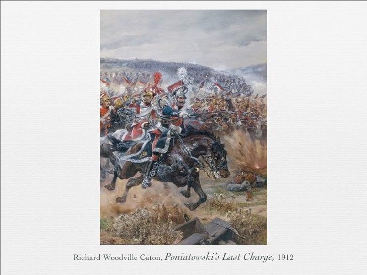 richard woodville caton poniatowski s last charge 1912
