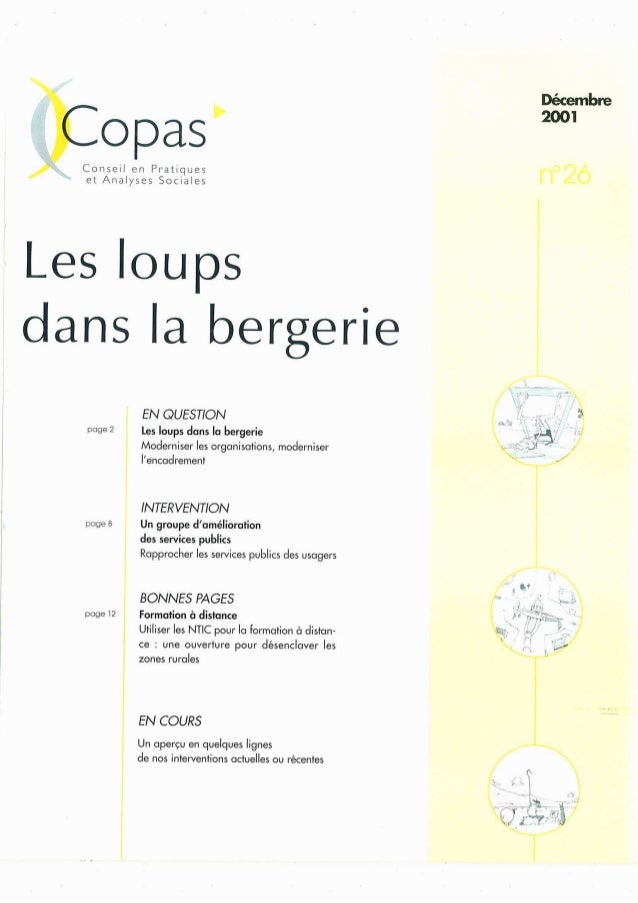 Opasb  Ị Colìseìl en PI`atiqUeS eĩ Alìalyses Sociales  Les lOupS  dans la bergeríe  pơge 2  pơge B  poge ì 2  EN QUESTION ...