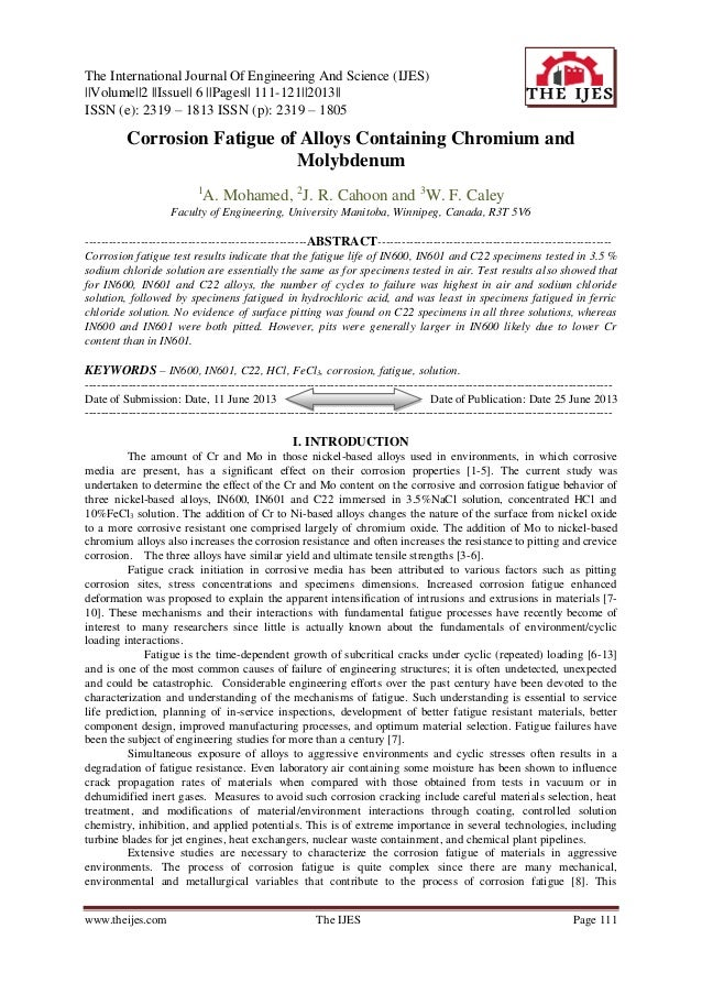The International Journal Of Engineering And Science (IJES) ||Volume||2 ||Issue|| 6 ||Pages|| 111-121||2013|| ISSN (e): 23...