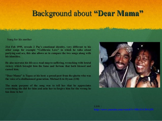 dear mama tupac Find and save ideas about 2pac dear mama lyrics on pinterest | see more ideas about dear momma, dear mama lyrics and tupac mom.