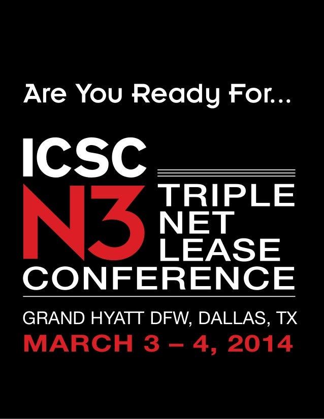 Are You Ready For...  GRAND HYATT DFW, DALLAS, TX  MARCH 3 – 4, 2014