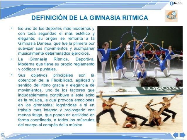 N 1 sesion de aprendisaje gimnasia educativa y ritmica for Definicion de gimnasia