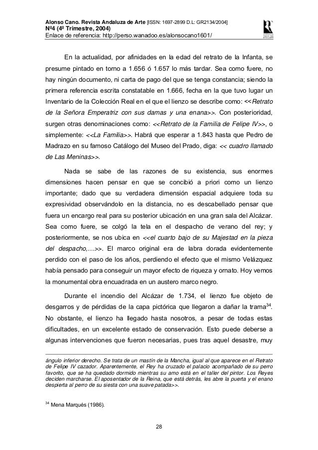 Alonso Cano Revista Andaluza de Arte, nº4 (4º Trimestre, 2004)